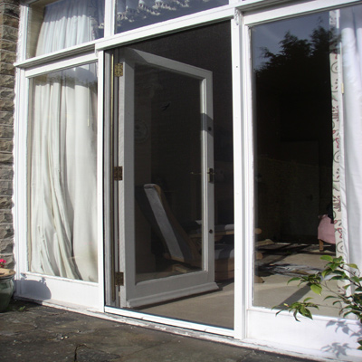 Fly Screens for doors and windows in Cornwall